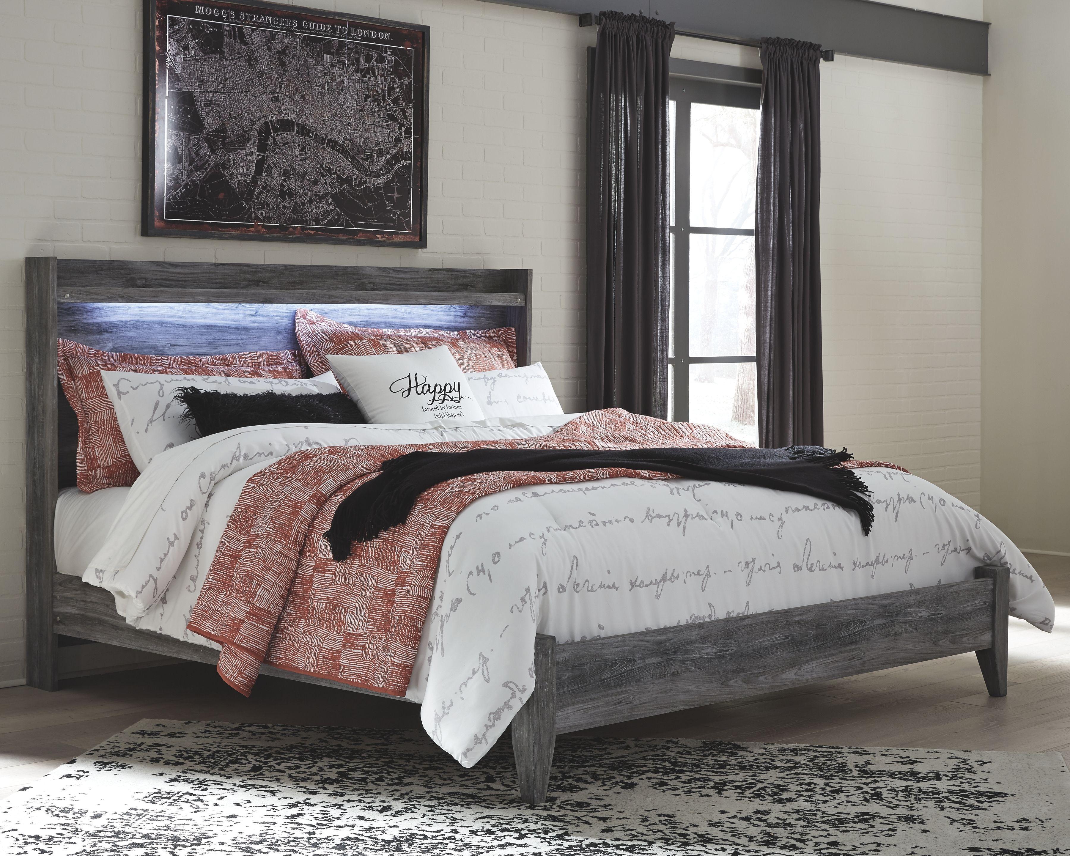 Baystorm King Panel Bed King storage bed