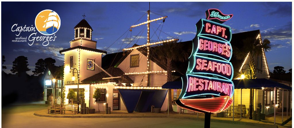Captain George S Seafood Restaurant Virgina Beach Va