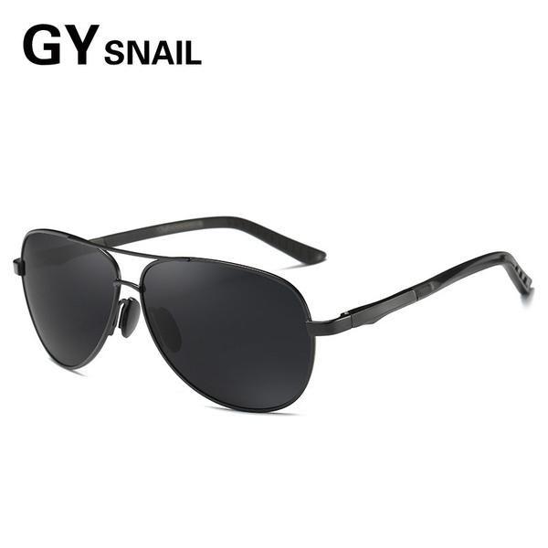 CVOO Aluminum Polarized Sunglasses Men Classic Brand Designer Driving Eyewear Pilot Sunglass 6ln4QG7LV