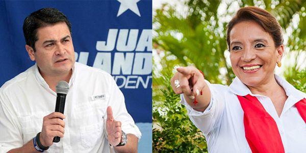 Honduras presidential election 2013: Xiomara Castro and Juan Orlando Hernandez both claim victory