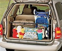 Cargo Bar With Storage Net Car Storage Mini Van Minivan