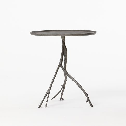 Delicieux Branch Side Table   West Elm I Like When U0027natureu0027 Can Come Inside.
