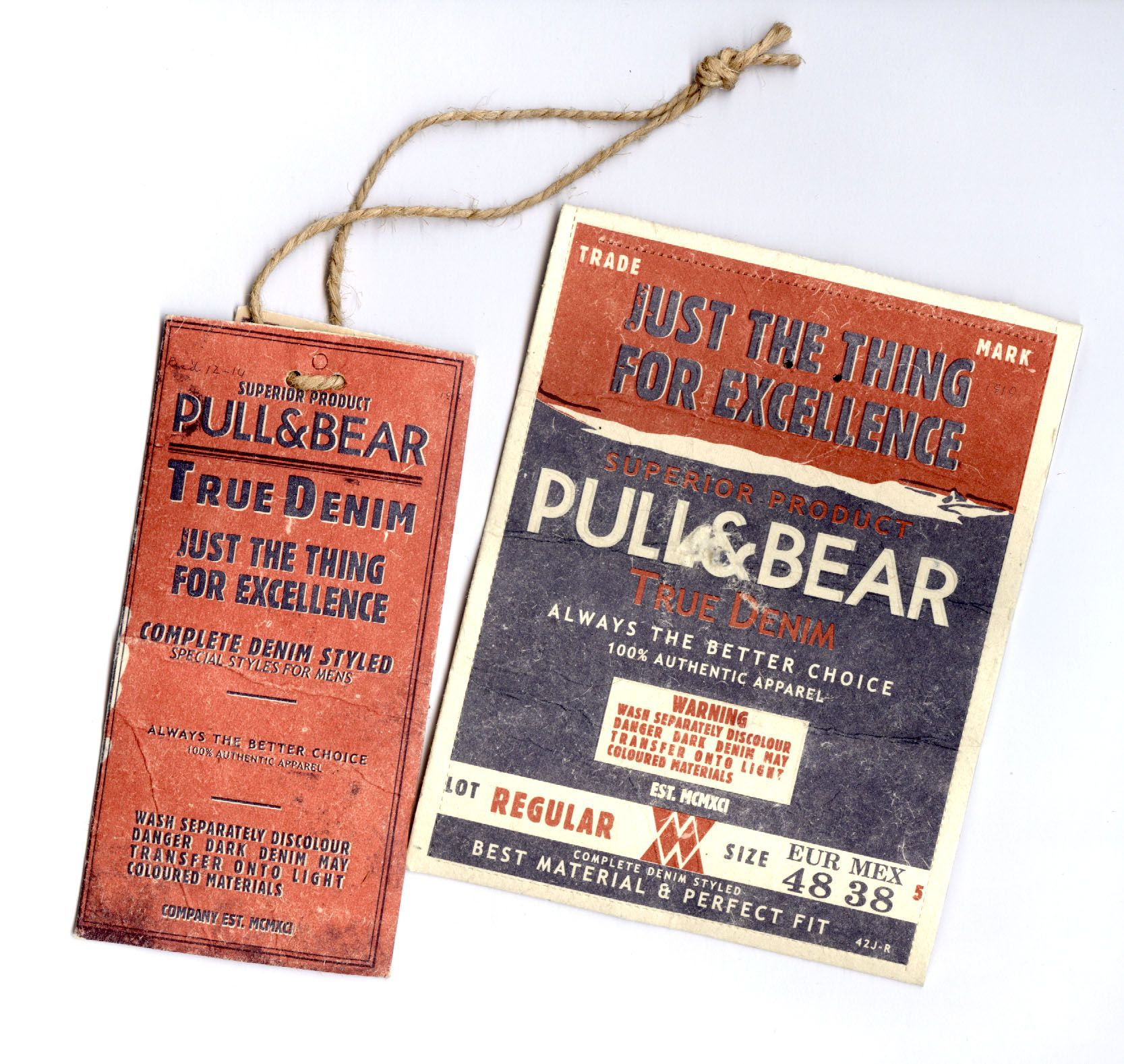 Pull and Bear New Collection #hangtag a/w 2013 | Hang tags ...