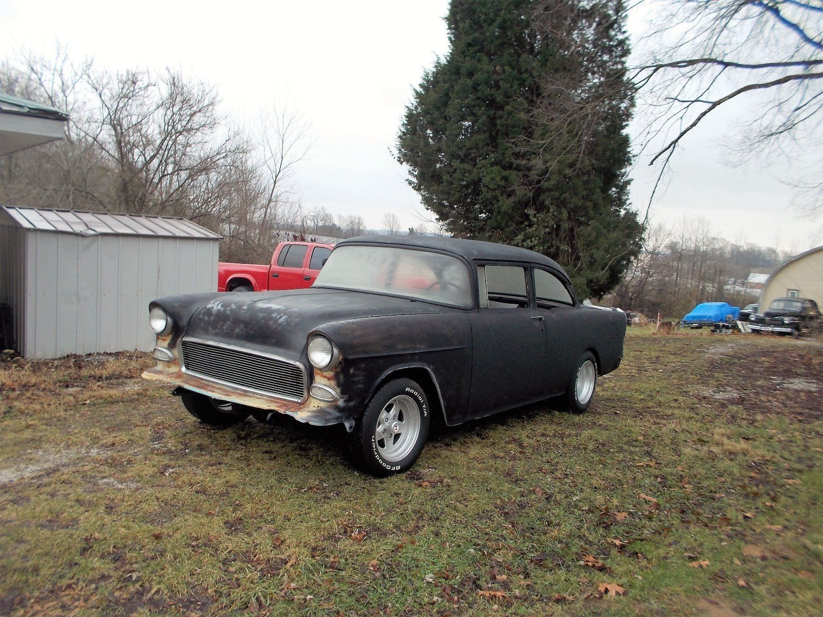 1955 Chevy 2dr Oldschool custom project car Project cars