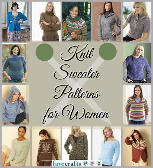 25 Free Knitted Sweater Patterns For Women Patterns Free And Knit