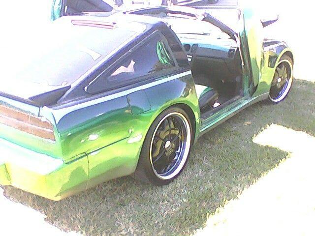 87 Nissan 300 Zx Turbocharged Beastmode Greengoblin Custom Cars Nissan 300zx Nissan
