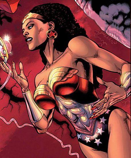 A Mulher Maravilha Negra Plano Infalivel Wonder Woman Black Comics Wonder