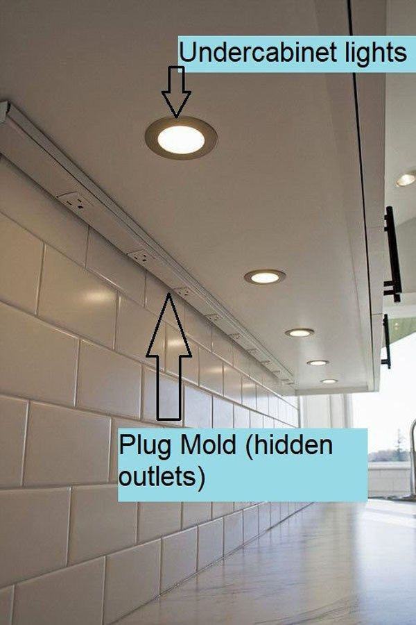 plugmold under cabinet 9 -