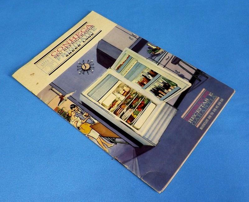 Geladeira Frigidaire Manual De Instruções Com Receitas 1964 - R$ 35,00 no MercadoLivre