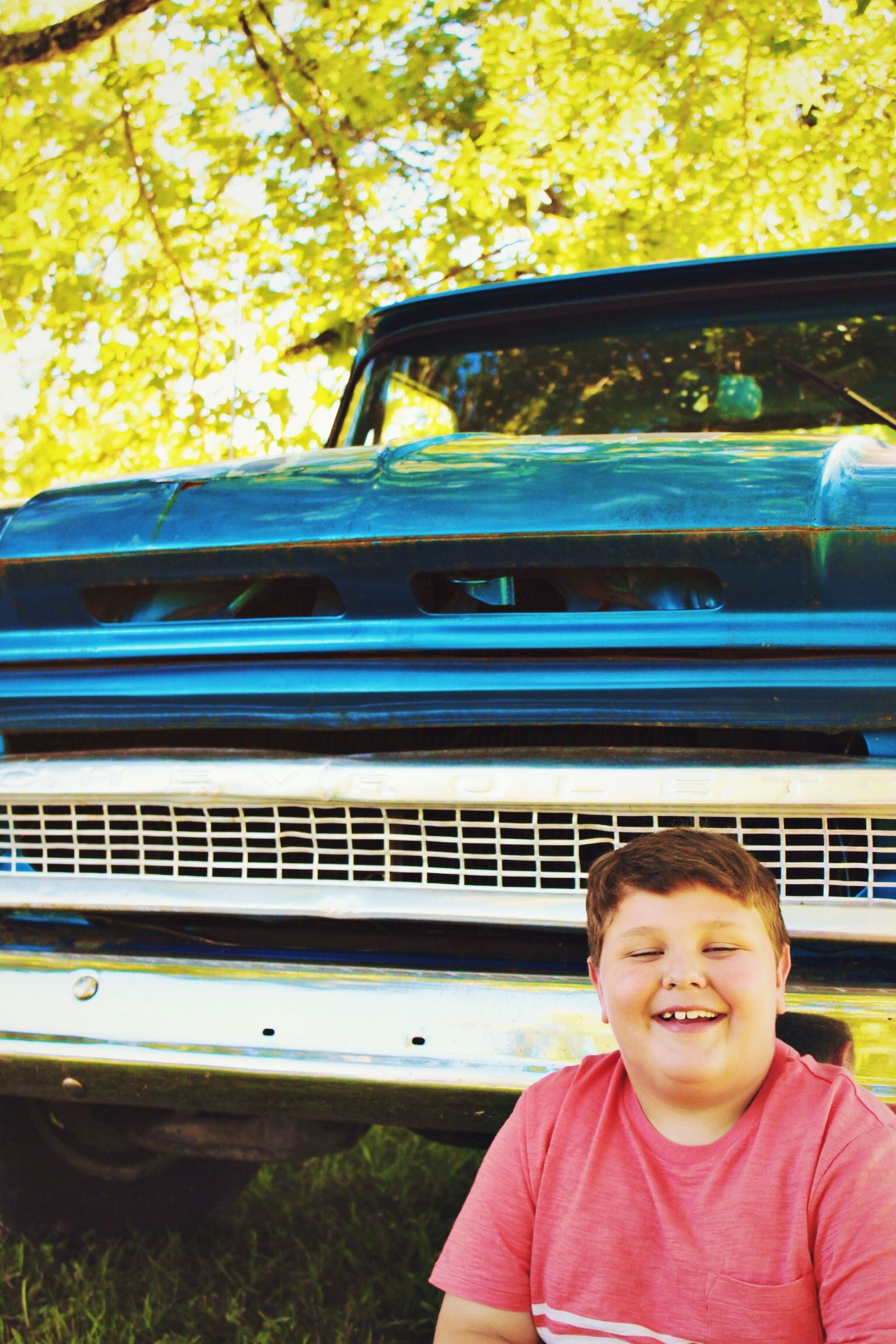 Boy. Truck. Photography. Carrie McClellan Photography.