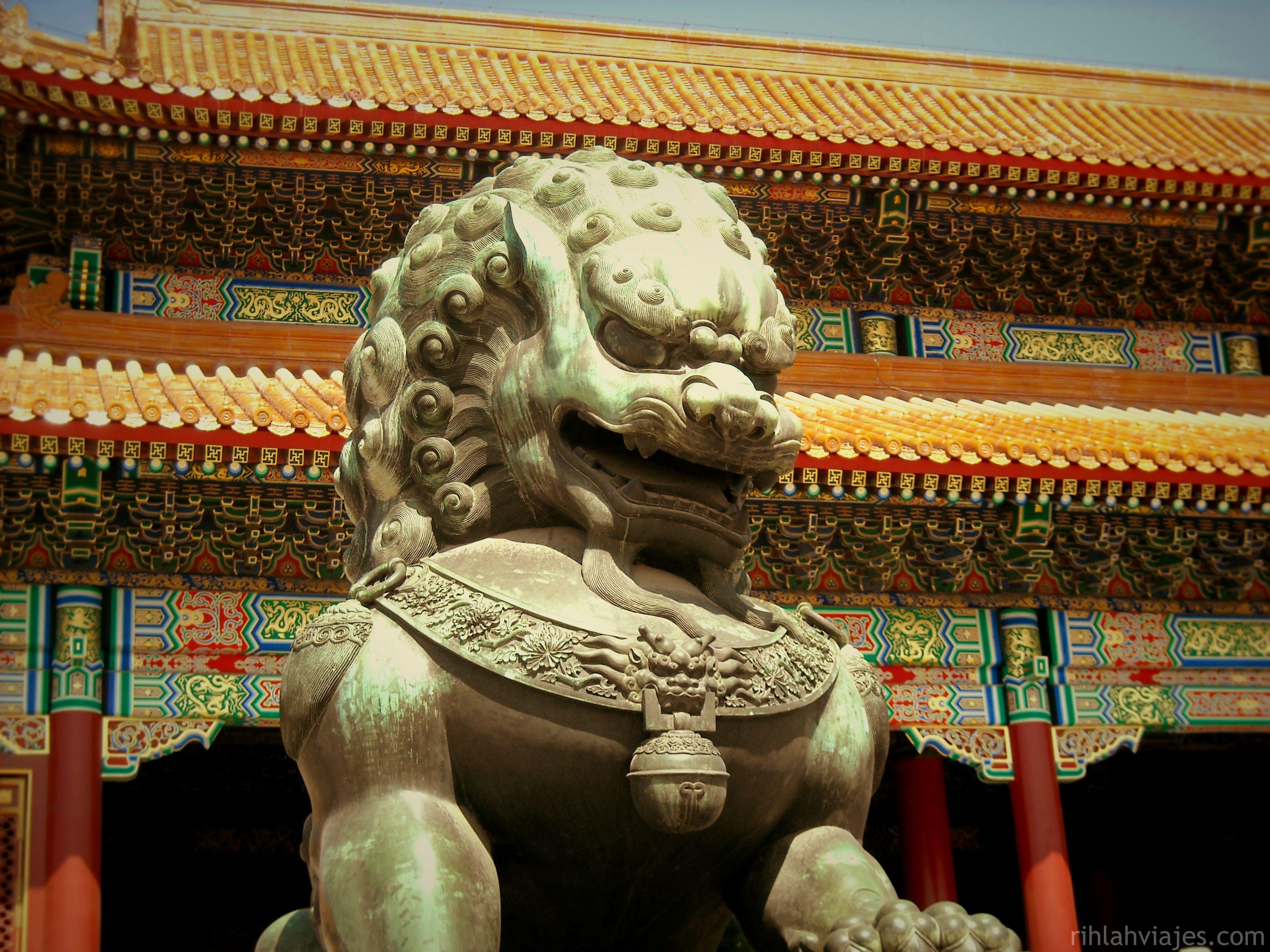 Ciudad Prohibida en Pekín, China.