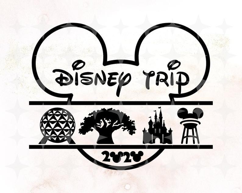 Disney World 4 Theme Parks Animal Kingdom Svg Disney Animal Etsy In 2021 Animal Kingdom Disney Disney Scrapbook Disney Silhouettes