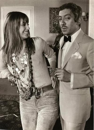 Jane and Serge being classy