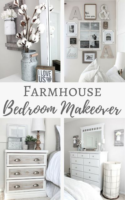 40 Master Bedrooms One Room Challenge Week 6 Farmhouse Bedroom Reveal Simply Beautiful Master Bedroom Makeover Bedroom Makeover Farmhouse Master Bedroom