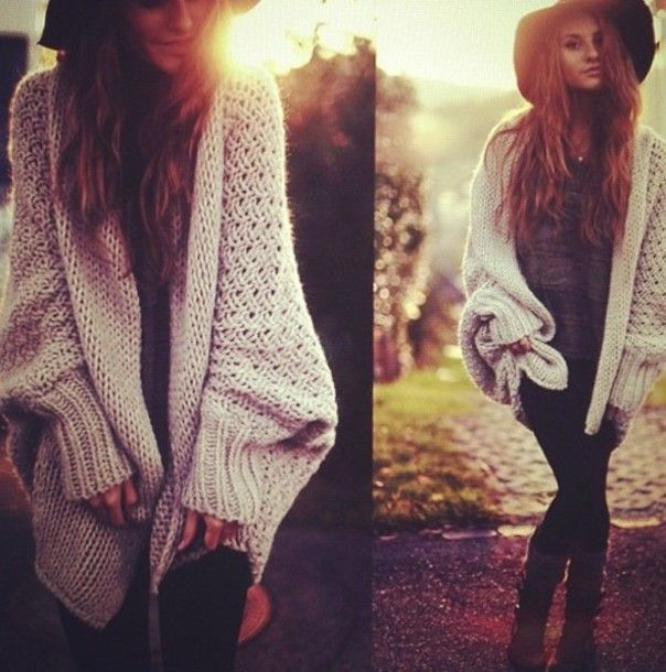 thick cardigan | ... cardigan-knitted-knitted-sweater-oversized ...