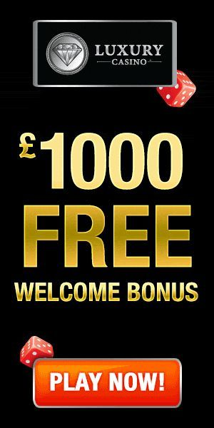 Luxury Casino welcome bonus