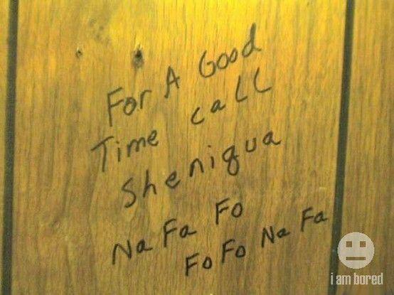 call shenigua!