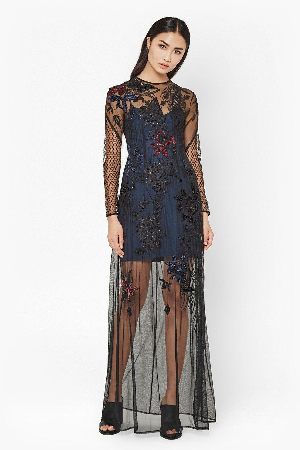 Wednesday Stitch Maxi Dress  e9c9343267