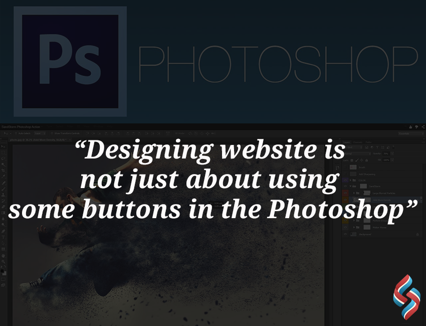 Designing website is not just about using some buttons in the Photoshop   #webdesigning #webdesign #websitedesign #sourcesoftsolutionspvtltd