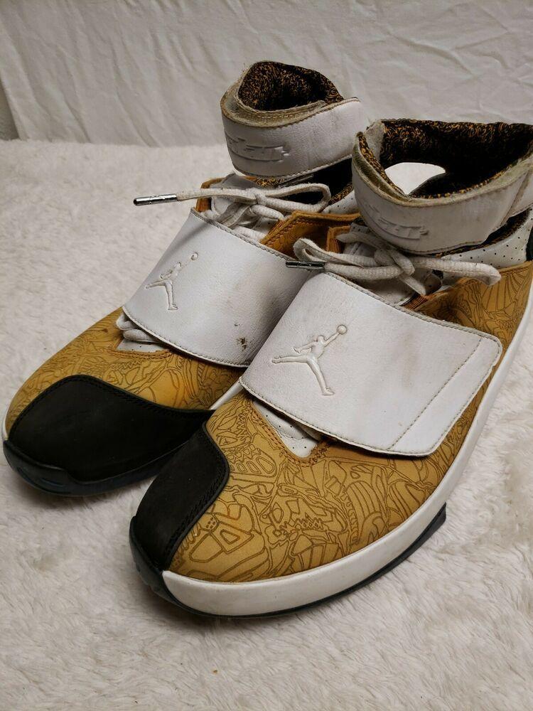 d14aea77f99dd4 Nike Air Jordan XX 20 EAST COAST CHUTNEY WHEAT WHITE BLACK 2005 ...