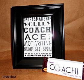 Volleyball Coach Gift Idea Volleyball Coach Gifts Coach Gifts Coaching Volleyball