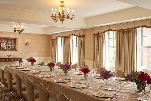 Taj Boston Creates Private Dining Menus That Guests Will Enjoy Classy Private Dining Rooms Boston Decorating Inspiration