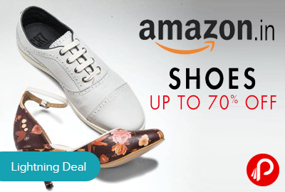 Amazon Lighting Deal Is Offering Upto 70% Off On Shoes For Men U0026 Women And