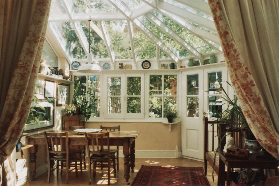 Giardini di inverno in stile inglese porch veranda for Faccende domestiche in inglese