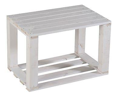 Tavolino Comodino ~ Castagnetti pallet tavolino comodino legno abete bianco