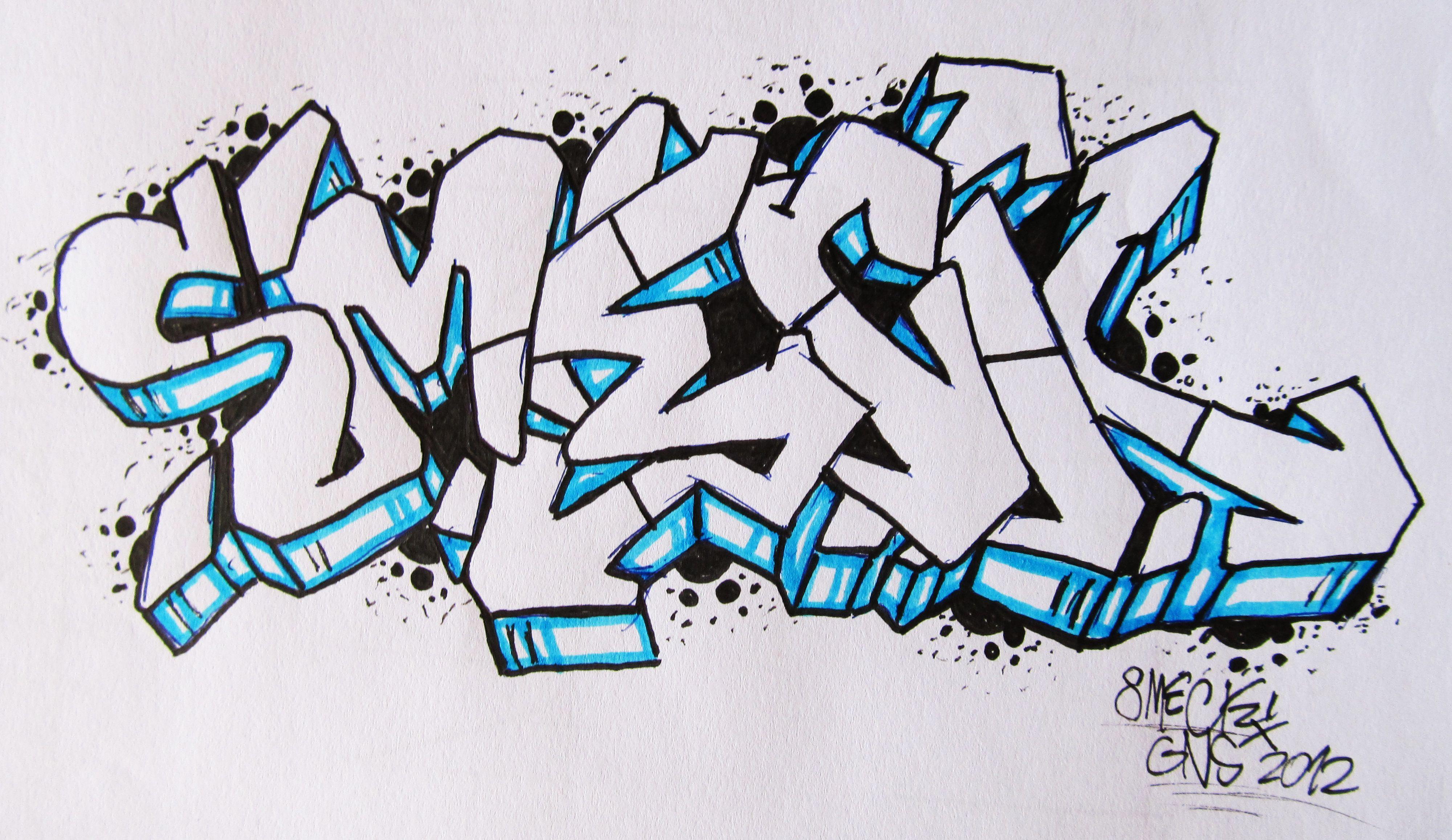 картинки граффити легкие граффити запросу