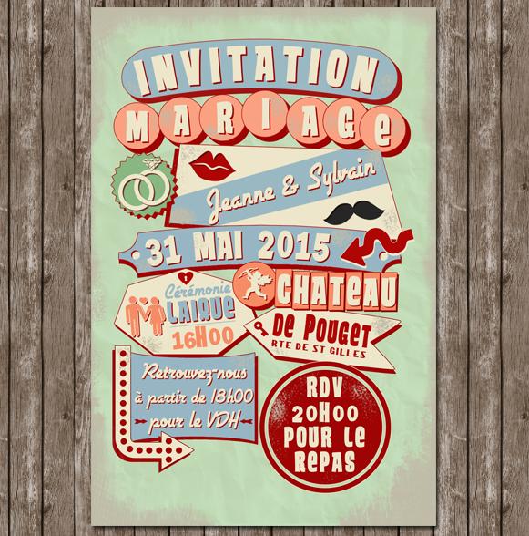 1000 images about 2_faire part_ mariage on pinterest - Faire Part Mariage Guinguette