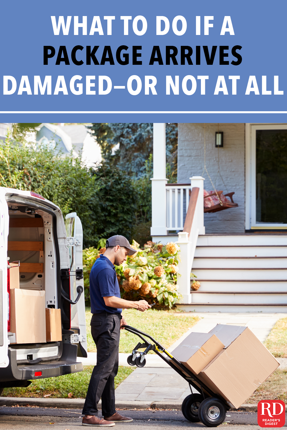 What to Do If a Package Arrives Damaged—or Not at All