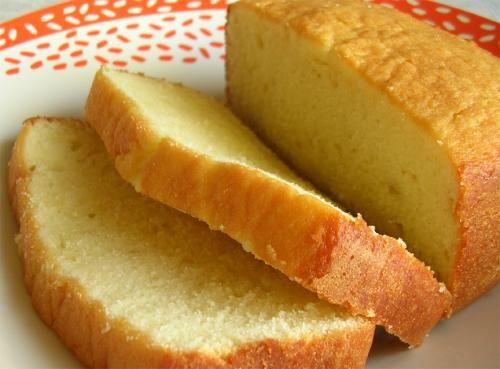 Vegetarian pound cake recipe