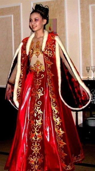 Татарское национальное платье купить в