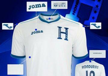 Honduras 2014 World Cup Joma Home and Away Jerseys  044ba6ad2