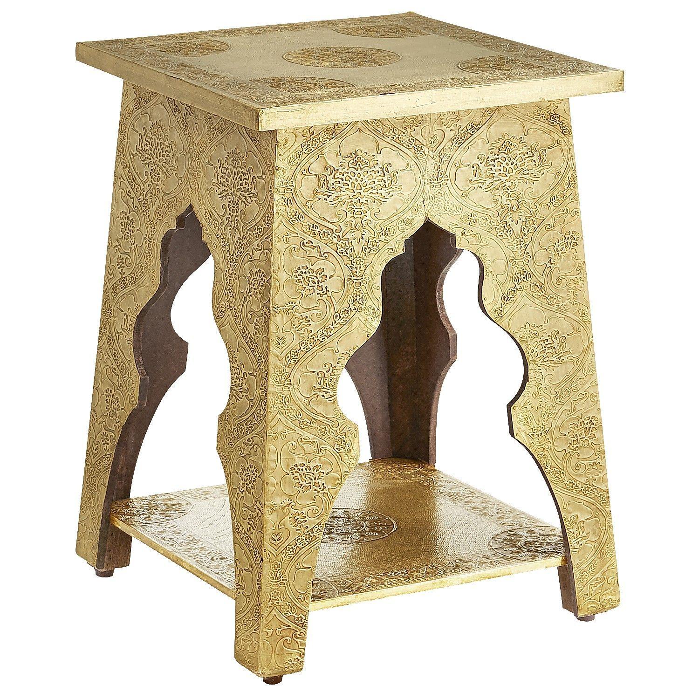 Magnificent Marrakesh Accent Table Brass Pier 1 Imports Decor Theyellowbook Wood Chair Design Ideas Theyellowbookinfo