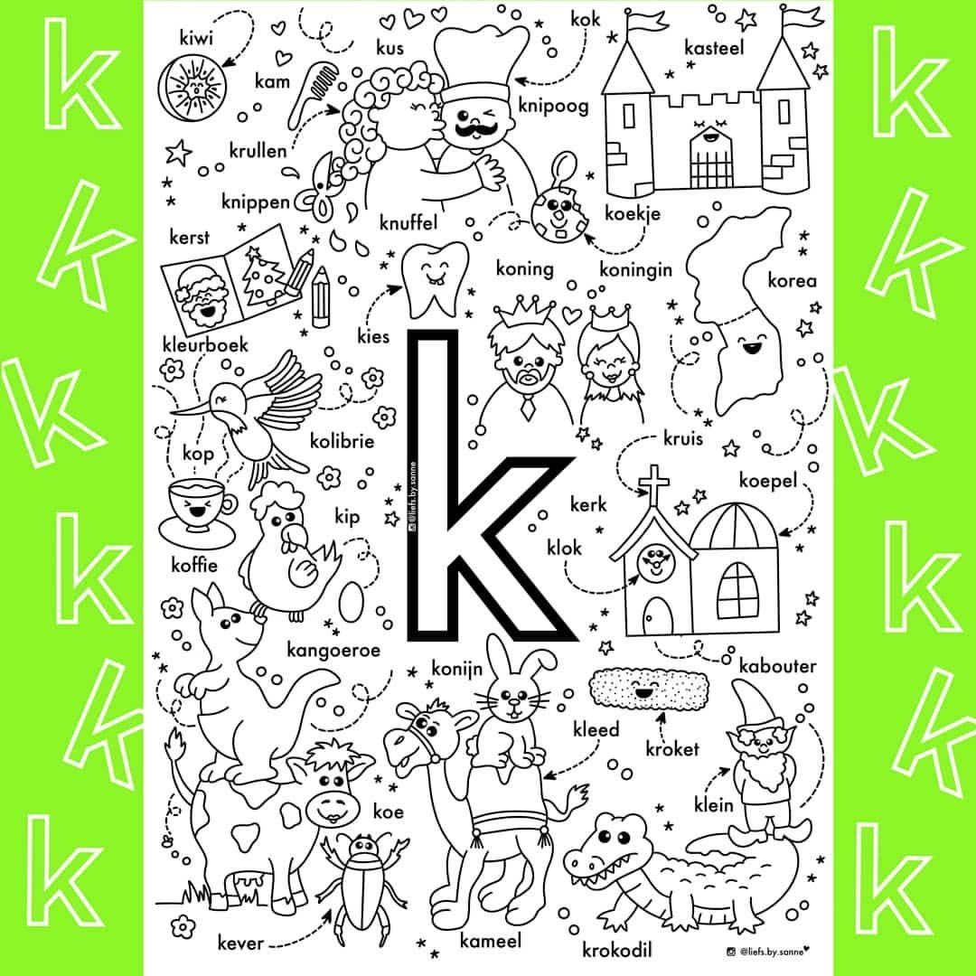 Sanne Anneveldt Op Instagram De K Van K T Sorry Maar Dat Dacht Ik Echt Toen Ik Zo Goed Als Klaar Was Met In 2020 Letterherkenning Spelletjes Letteren Geletterdheid