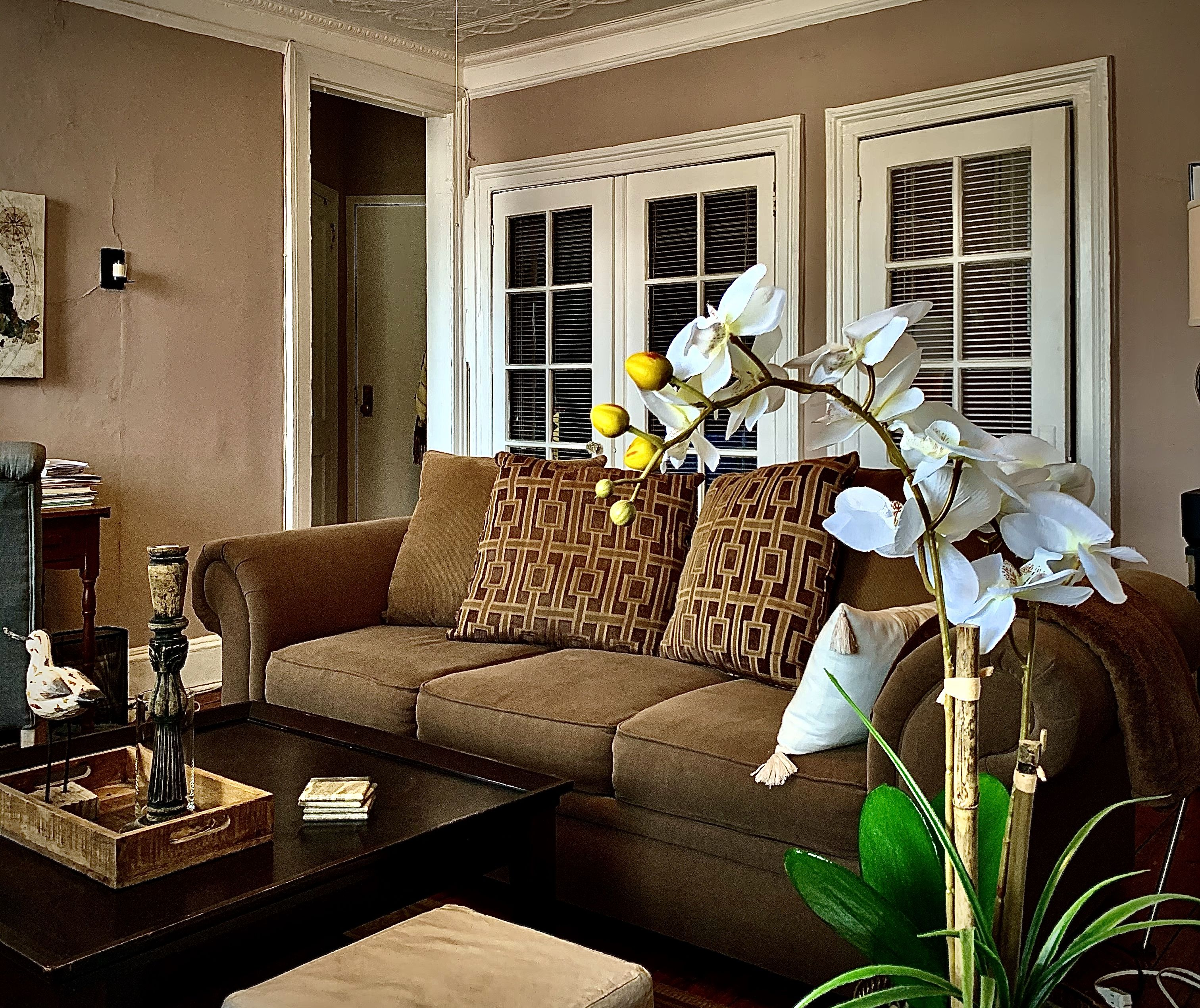 A. Interior Decor... Staging Of An Occupied Apartment