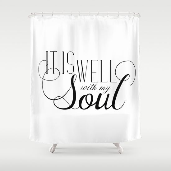 It Is Well With My Soul Spoonlily Black And White Bible Verse