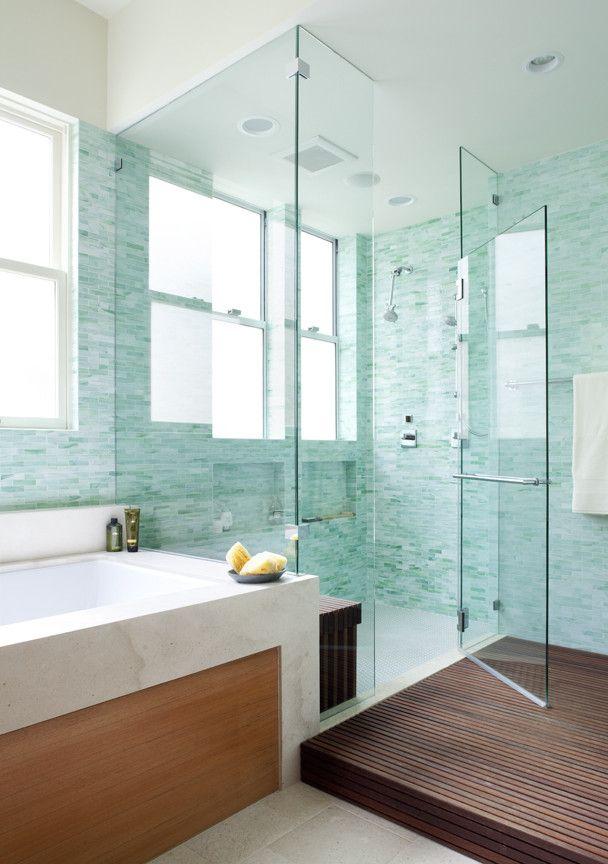 Turquoise Bathroom Badezimmer Design Duschraume House Of Turquoise