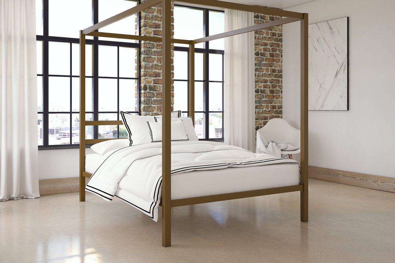 Modern Canopy Full Bed Ashley Furniture Homestore Modern
