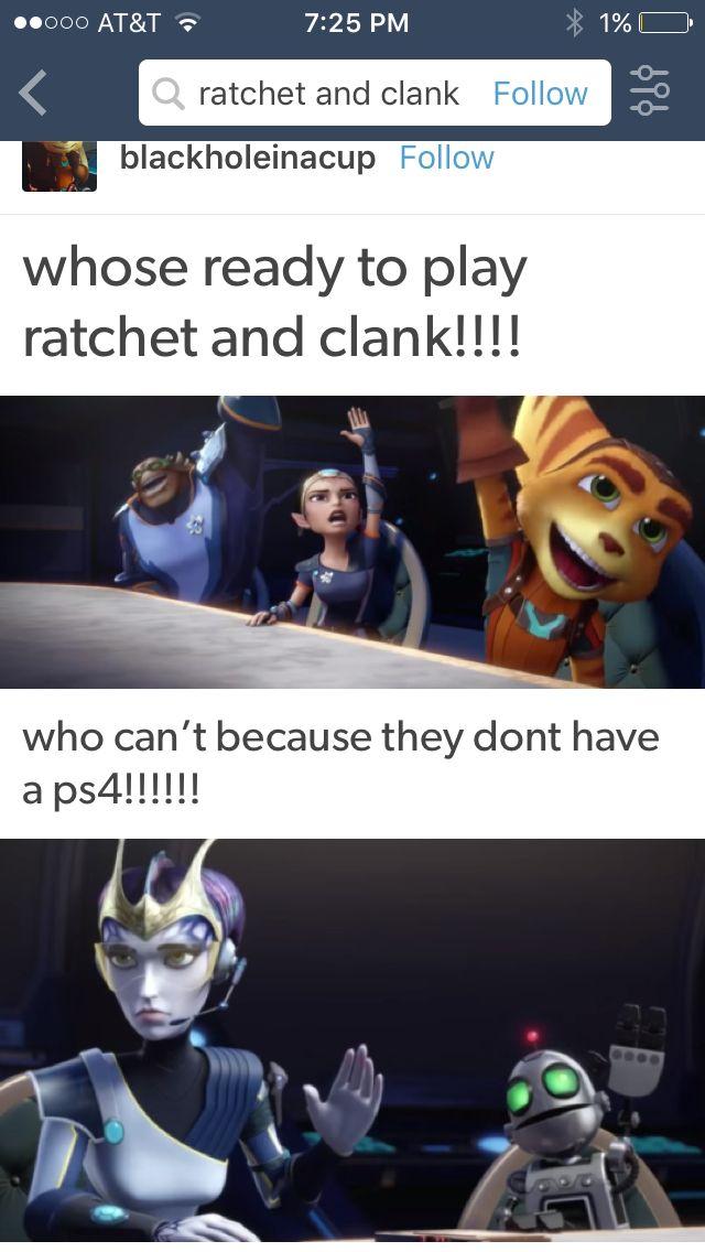im literally ratchet ratchet and clank ratchet video