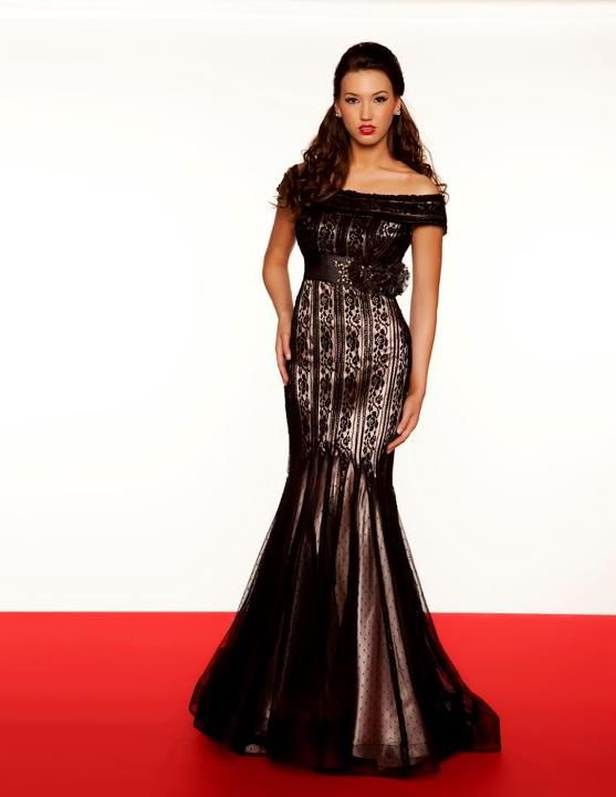 Style: #80166R BLACK-NUDE | PURE BEAUTY | Pinterest | Nude, Gowns ...