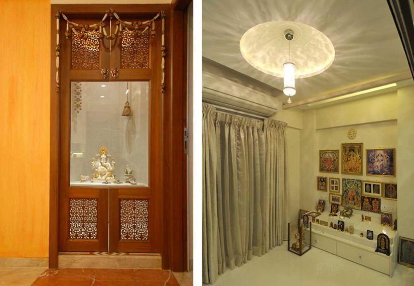 Indian god marble temple indian god marble temple for God room interior designs