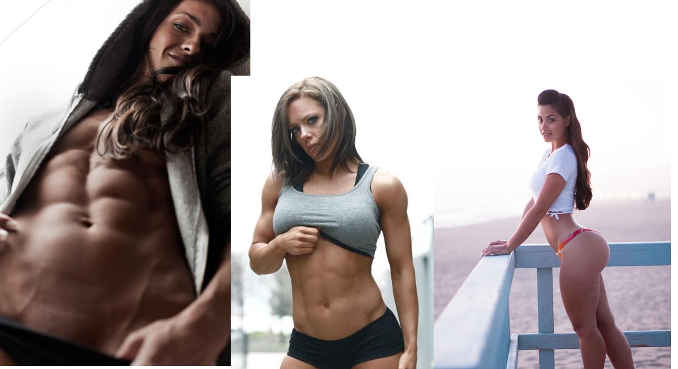 sexy women in gym
