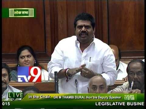 Congress divides AP ruthlessly - TDP MP Srinivasa Rao