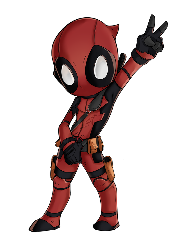 Chibi Deadpool Fan Art Deadpool Chibi By Wooserr The 5