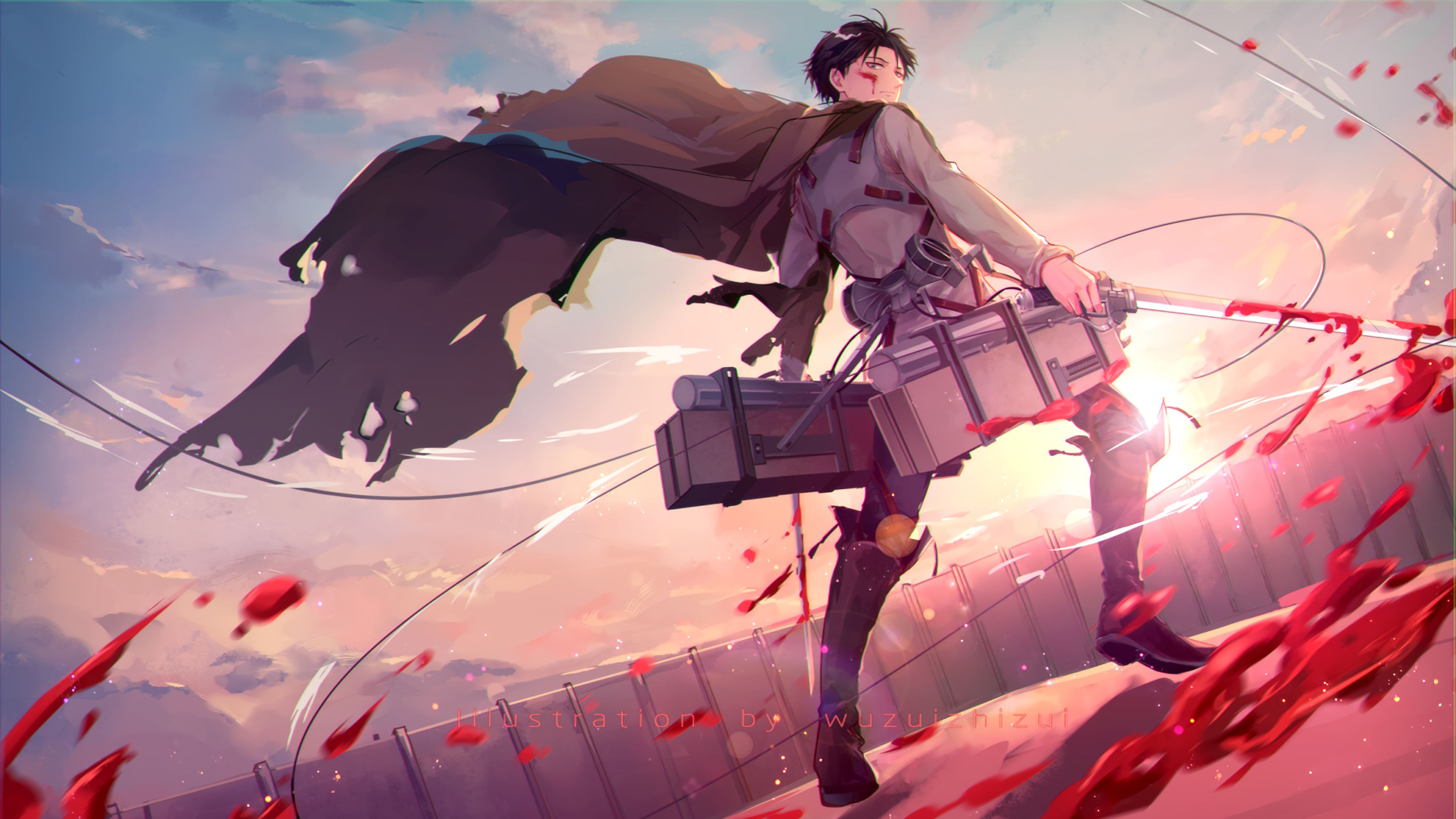 Attack On Titan Levi Anime 4k Levi Ackerman Wallpaper Anime Wallpaper 1920x1080 29 anime pc wallpaper