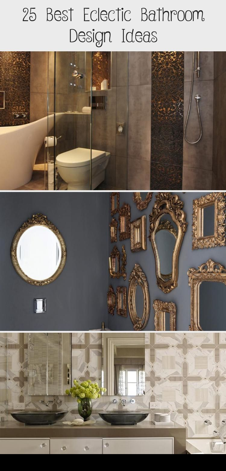 10 Best Eclectic Bathroom Design Ideas – Wow Decor