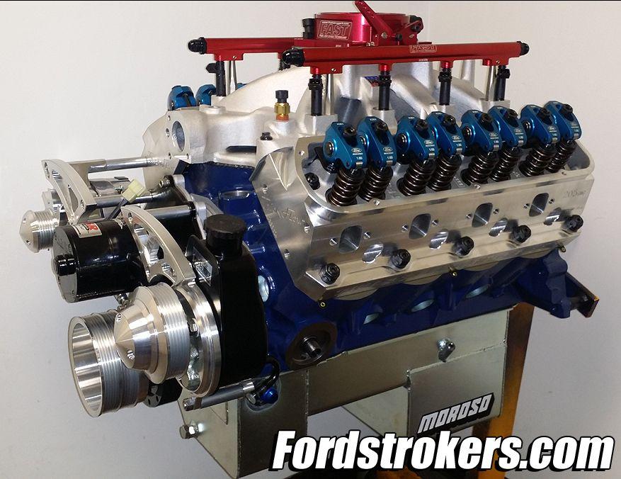 427 dart small block ford stroker, twin turbo, fast efi, 205